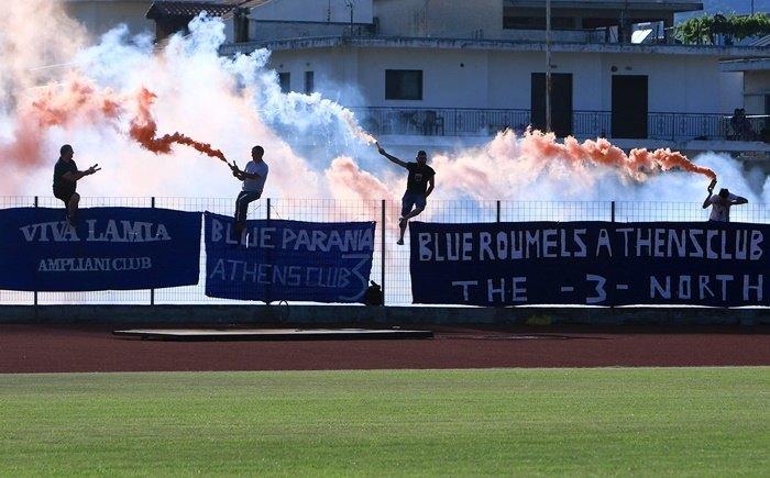 Αντιδράσεις από τους οπαδούς της Λαμίας για το ματς με την ΑΕΚ