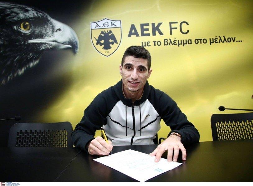 Ο Μάνταλος... υπογράφει το νέο συμβόλαιο ζωής με την ΑΕΚ! (ΦΩΤΟ)