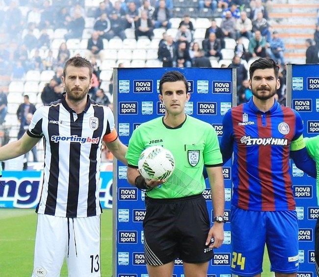 Ο Κουμπαράκης ορίστηκε στο ΑΕΚ-Απόλλων Σμύρνης