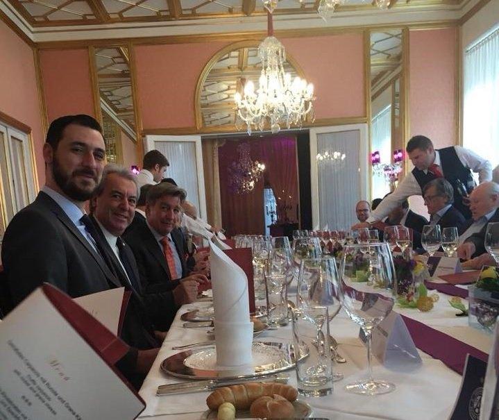 Το γεύμα της Αούστρια Βιέννης στη διοίκηση της ΑΕΚ (ΦΩΤΟ)