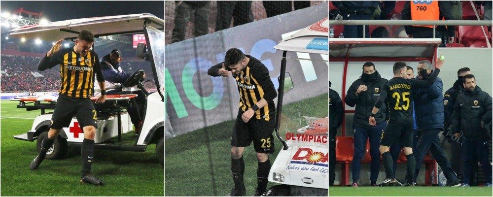 Καρέ-καρέ η αλητεία των οπαδών του ΟΣΦΠ στον τραυματία Γαλανόπουλο (ΦΩΤΟ)
