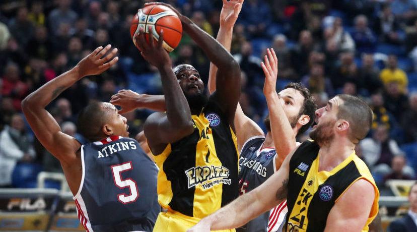 Basketball Champions League: Η κατάταξη στον όμιλο της ΑΕΚ