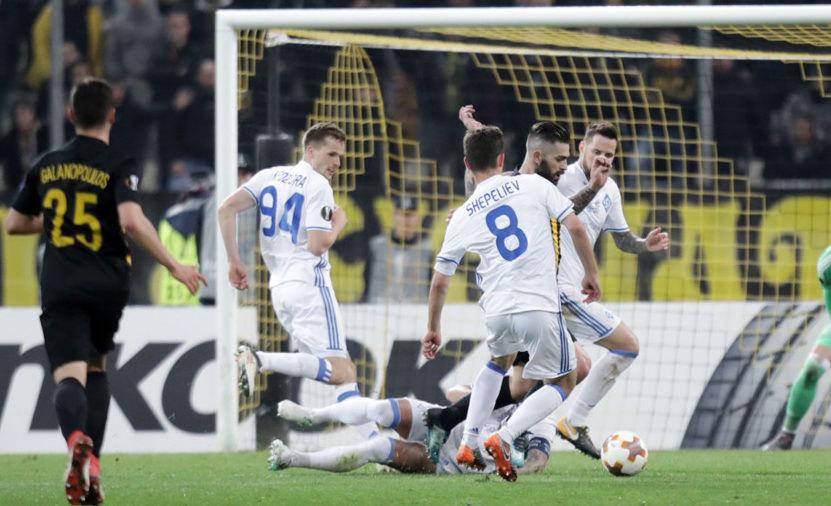 Νίκη με 1-0 για την Ντιναμό Κιέβου πριν από το ματς με την ΑΕΚ (VIDEO)