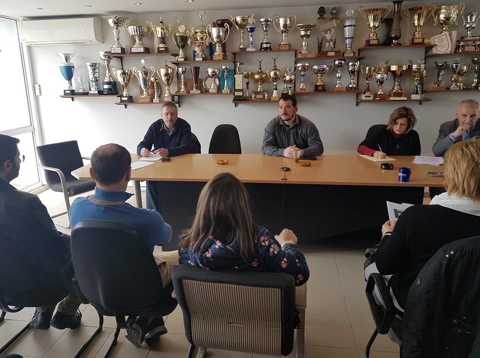 Η ΑΕΚ συγχαίρει τον Πύρρο Δήμα για την επανεκλογή του