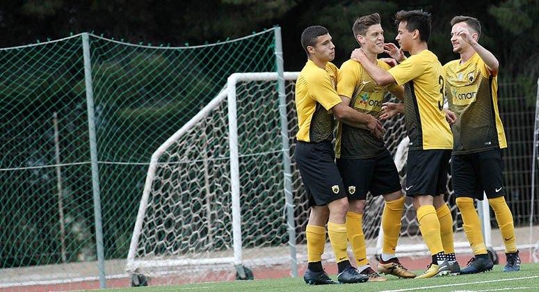 Περίπατος της ΑΕΚ στην Κέρκυρα με 3-0 (Κ20)