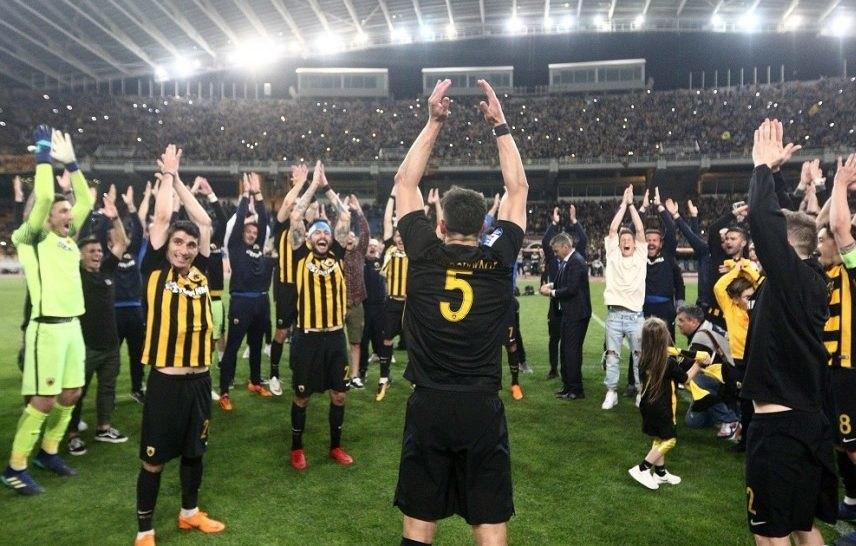 Το πάρτι και ο γύρος του θριάμβου από τους Πρωταθλητές (VIDEO)