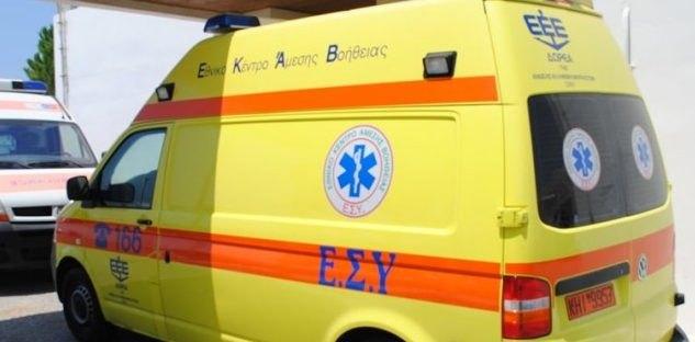 Ασθενής έπεσε στο κενό από τον 4ο όροφο του Γενικού Νοσοκομείου στην Κόρινθο