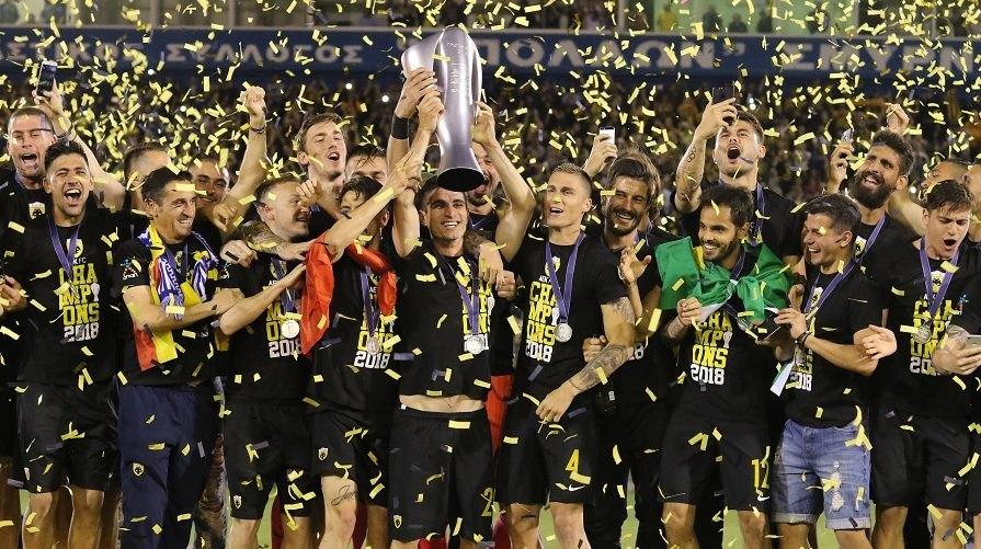 Πρωταθλητές και στα... βραβεία οι παίκτες της ΑΕΚ! (ΦΩΤΟ)