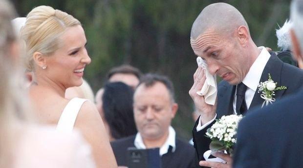 Η συγκίνηση του Τσιρίλο στον γάμο του (ΦΩΤΟ)