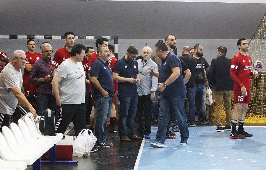 Κλάμα και στο χάντμπολ από τον Ολυμπιακό!
