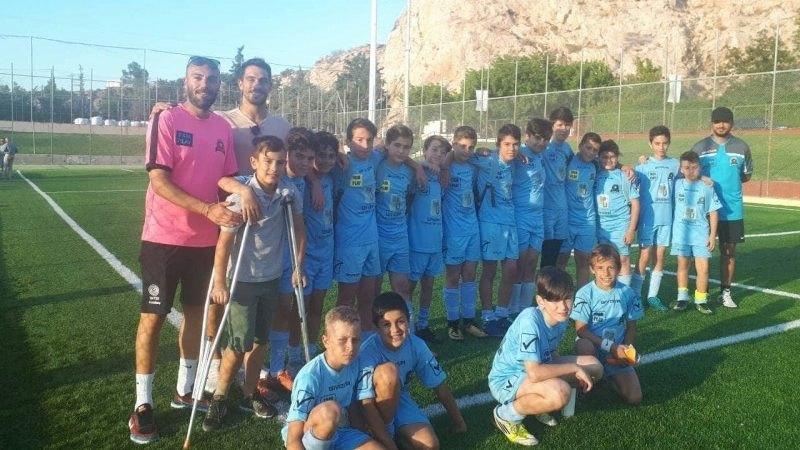 Ο Λαμπρόπουλος μίλησε στα παιδιά των Ακαδημιών του Αστέρα Βύρωνα (ΦΩΤΟ)