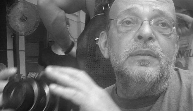 Πέθανε ο Μάνος Αντώναρος (ΦΩΤΟ)