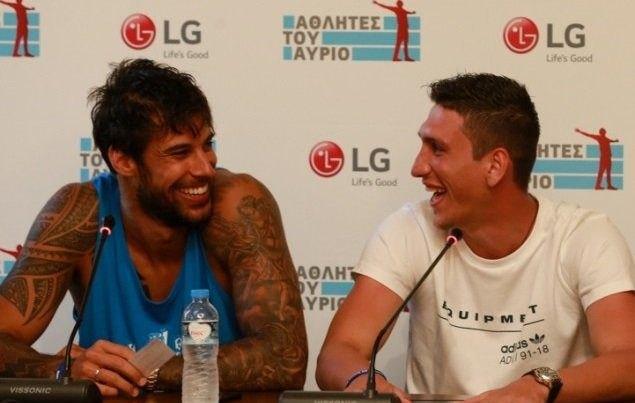 Πρίντεζης και Λαρεντζάκης συνάντησαν τους «LG Αθλητές του Αύριο» στη Σύρο! (ΦΩΤΟ)