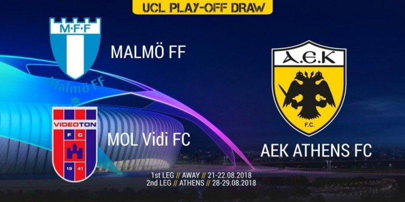 Οι ημερομηνίες των play off της ΑΕΚ για το Champions League