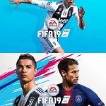 Ρονάλντο και Νεϊμάρ μαζί στο εξώφυλλο του FIFA19 (ΦΩΤΟ)