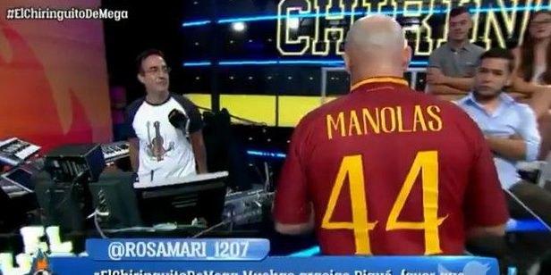 Τραγούδι για τον Μανωλά από Μαδριλένο κωμικό (VIDEO)
