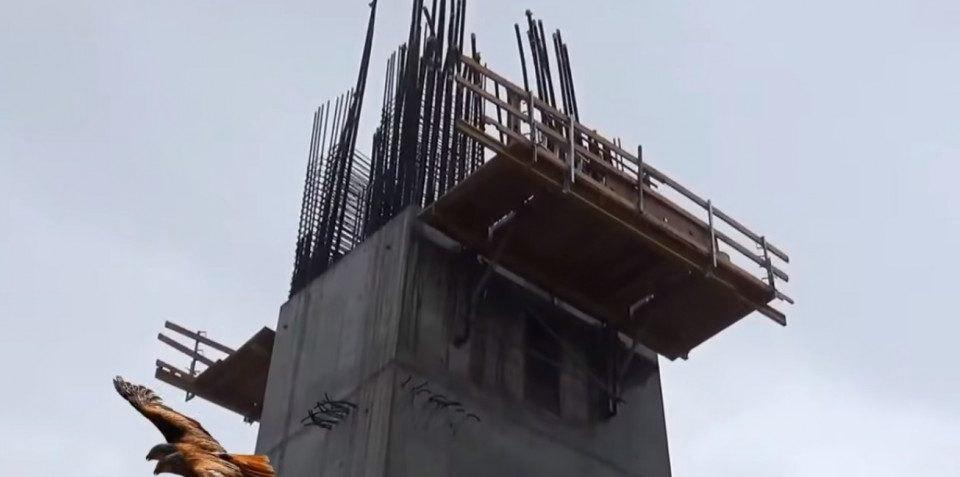Συνεχίζονται τα έργα στην «Αγιά Σοφιά» παρά την κακοκαιρία! (VIDEO)