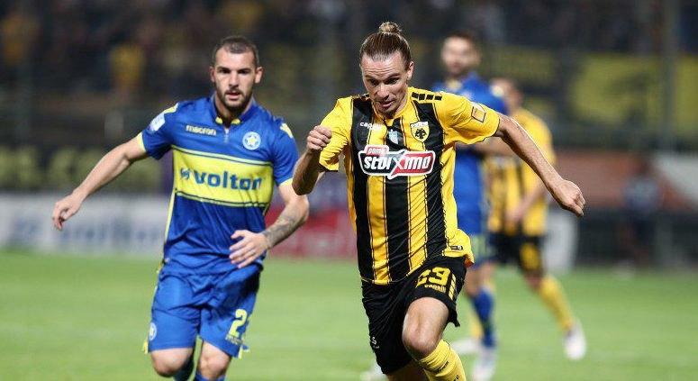 Αστέρας Τρίπολης – ΑΕΚ 0-1 (ΤΕΛΙΚΟ)