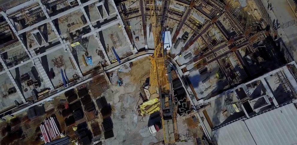 Απίστευτα πλάνα από το «σπίτι» της ΑΕΚ από ψηλά! (VIDEO)