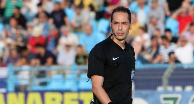 O Διαμαντόπουλος διαιτητής στο ΑΕΚ-Μπενφίκα των Νέων