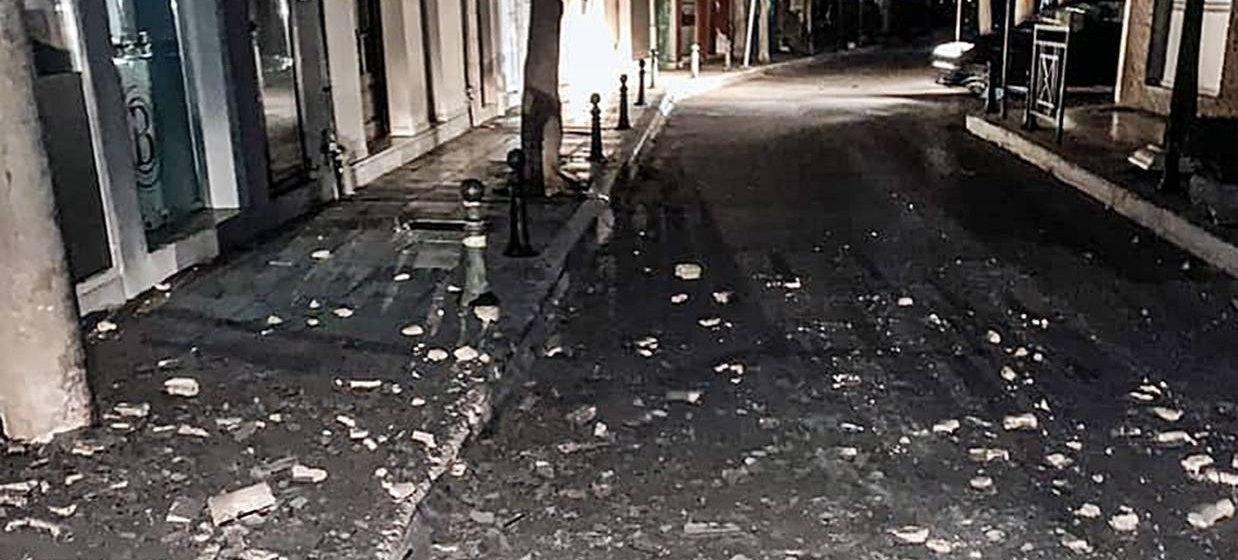 Υλικές ζημιές από τον ισχυρό σεισμό στη Ζάκυνθο