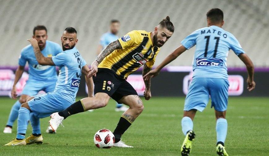 Παναθηναϊκός - ΑΕΚ 0-0 (ΤΕΛΙΚΟ)