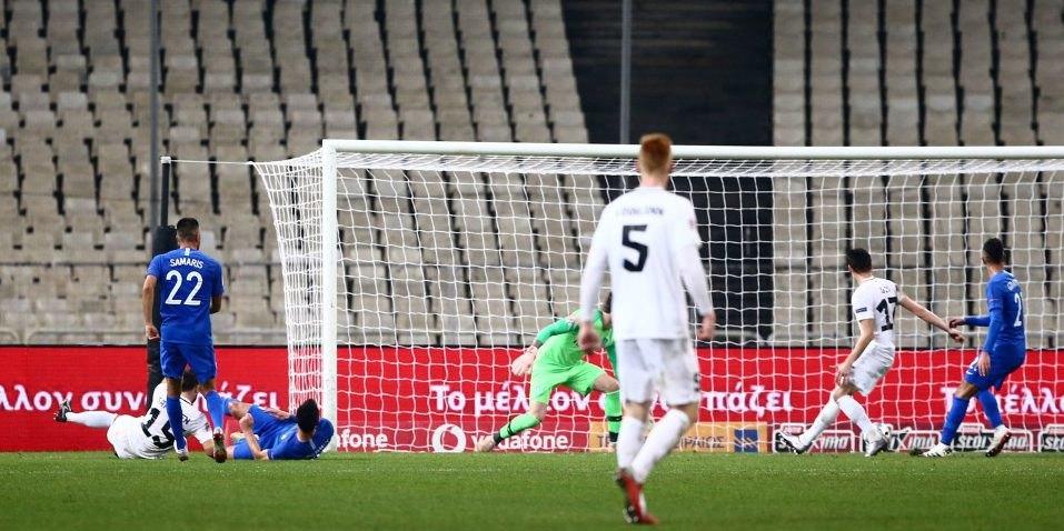Επαιξαν όλοι οι παίκτες της ΑΕΚ στην ήττα της Εθνικής από την Εσθονία