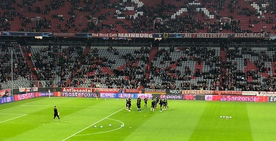 Η είσοδος της ΑΕΚ στο «Allianz Arena» (VIDEO)