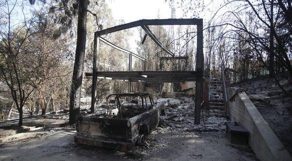 Στους 58 οι νεκροί από τις πυρκαγιές στην Καλιφόρνια
