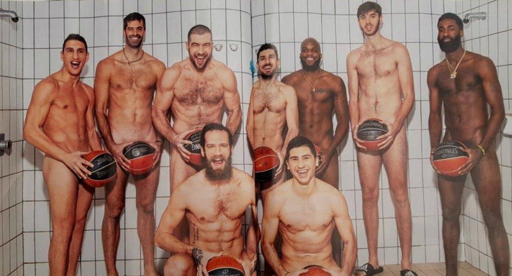 Οι παίκτες της ΑΕΚ έκαναν γυμνή φωτογράφιση για το «Down Town»! (ΦΩΤΟ)