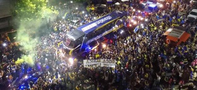 Πανζουρλισμός στην αναχώρηση της Μπόκα Τζούνιορς για Μαδρίτη! (ΦΩΤΟ-VIDEO)