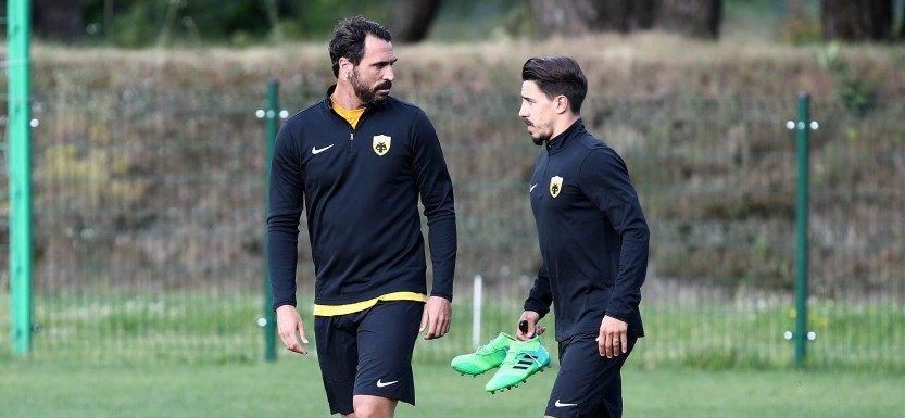 Ο Αλμέιδα έβαλε γκολ και ο Σιμόες το γιόρτασε στο Instagram (ΦΩΤΟ)