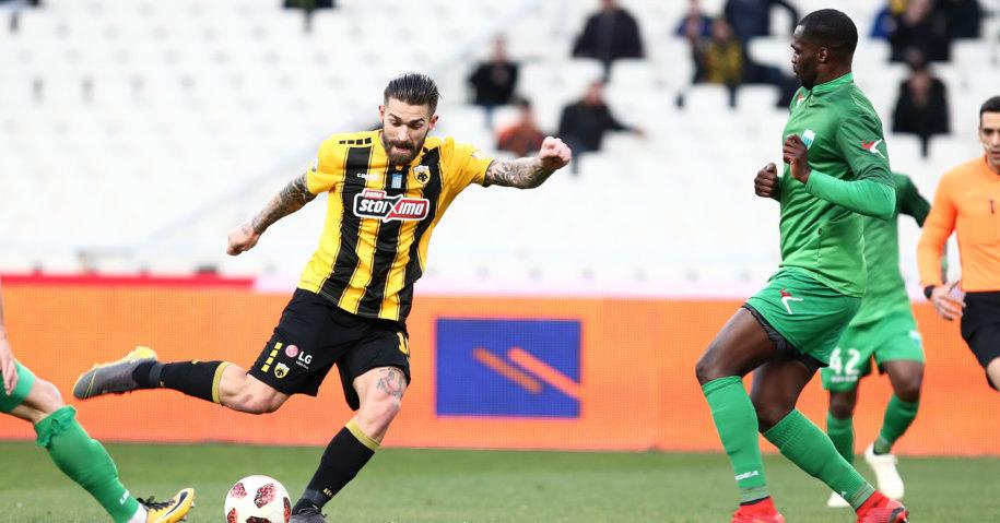 AEK - Λεβαδειακός 1-0 (ΤΕΛΙΚΟ)