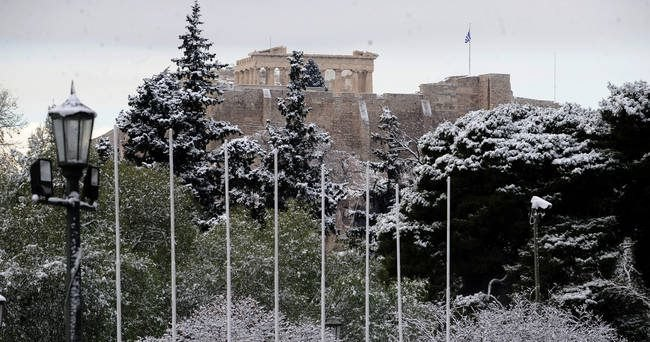 Ο «Τηλέμαχος» θα στρώσει το χιόνι και στο κέντρο της Αθήνας! -Δείτε πότε