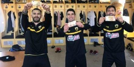 Νικητές στο ποδοβόλεϊ Λιβάγια-Μάνταλος-Μπακασέτας, κέρδισαν το... στοίχημα! (ΦΩΤΟ)