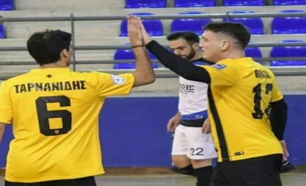Δεν άφησε ελπίδες στον Ερμή η ΑΕΚ στο Futsal