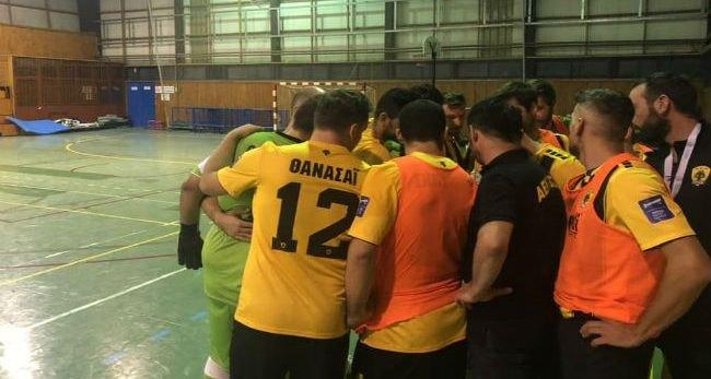Σπουδαία νική για την ΑΕΚ στο Futsal με 3-2 επί της Ολυμπιάδας