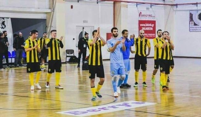Να συνεχίσει το σερί και τη νέα χρονιά η ΑΕΚ στο Futsal!