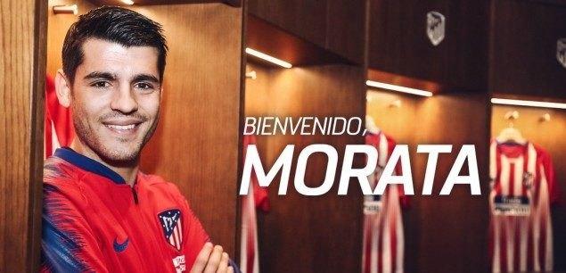 Επίσημα στην Ατλέτικο Μαδρίτης ο Μοράτα