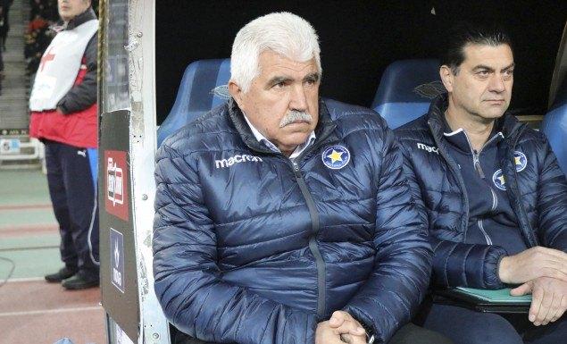 """Γκουτσίδης: """"Όταν δέχεσαι τρία γκολ από την ΑΕΚ είναι πολύ δύσκολο να συνεχίσεις"""""""