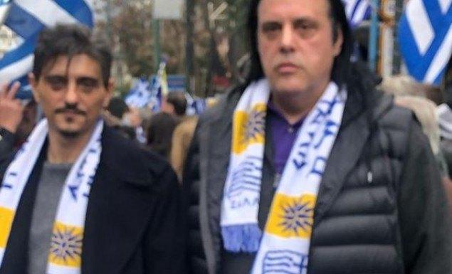 Ο Γιαννακόπουλος στο συλλαλητήριο για την Μακεδονία