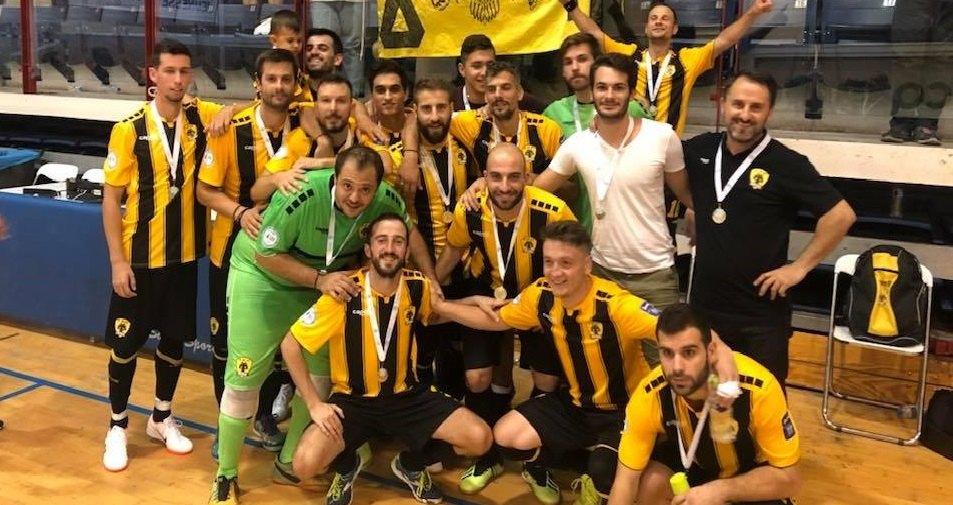 Κάλεσμα του κόσμου ενόψει Παναθηναϊκού η ΑΕΚ στο Futsal