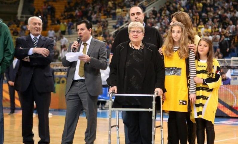 Πέπη Αμερικάνου: «Εύχομαι ολόψυχα καλή επιτυχία στην ΑΕΚ και ελπίζω στην κατάκτηση του Διηπειρωτικού»