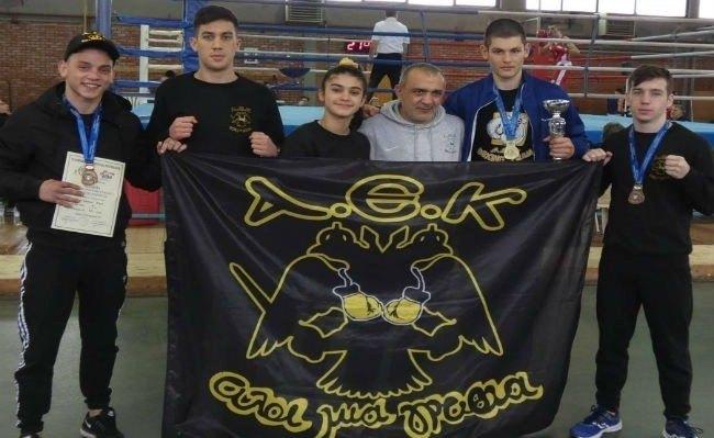 Πρωταθλητής Ελλάδος ο Βασιλειάδης στην πυγμαχία για την ΑΕΚ