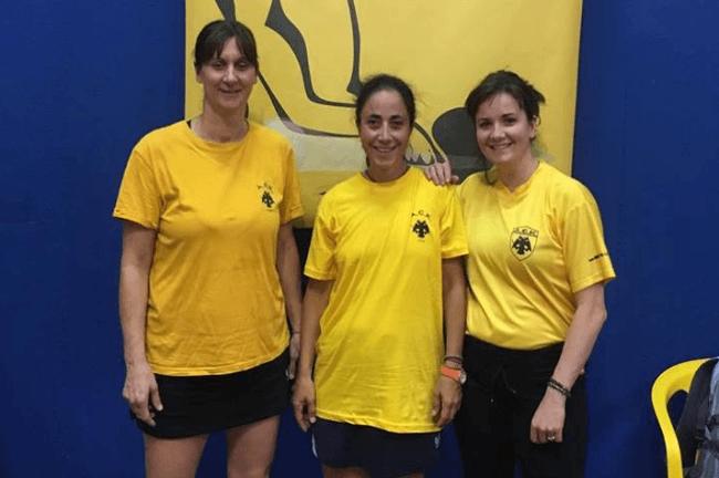 Παραμένει στην κορυφή η γυναικεία ομάδα του πινγκ πονγκ της ΑΕΚ