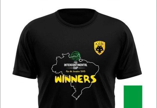 Το συλλεκτικό μπλουζάκι του Διηπειρωτικού στο ΑΕΚ-Προμηθέας Πατρών (ΦΩΤΟ)