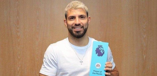 Παίκτης του μήνα ο Αγκουέρο στην Premier League  (ΦΩΤΟ)