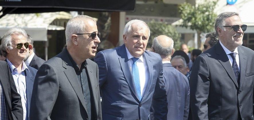 Στην κηδεία του Γιαννακόπουλου και ο Ομπράντοβιτς