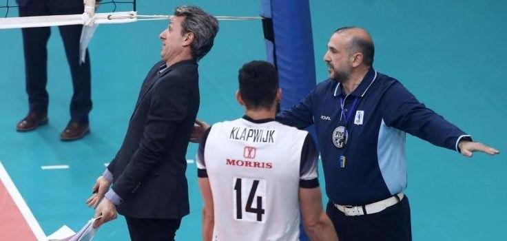 Volley League: Χαμός στο Ρέντη και προσωρινή διακοπή στο Ολυμπιακός-ΠΑΟΚ (VIDEO)