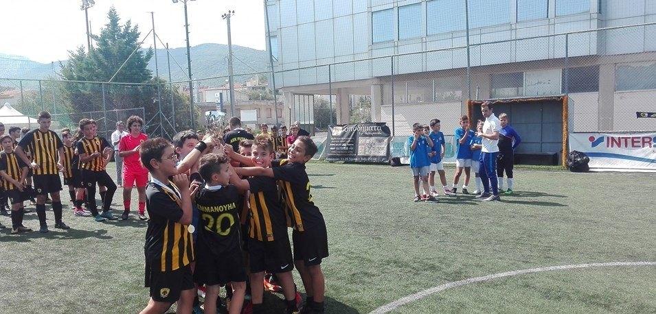Στις προπονήσεις της Ατλέτικο Μαδρίτης 4 παίκτες της ΑΕΚ στο Futsal